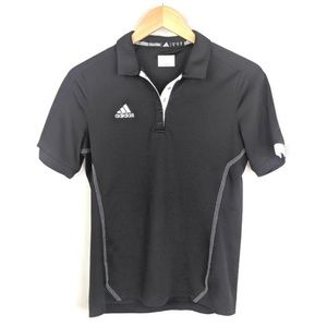 Adidas Polo Shirt Womens S Athletic Fitness Golf